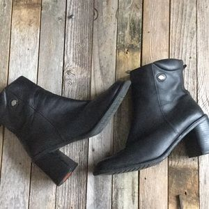 Harley Davidson motorcycle ankle boot